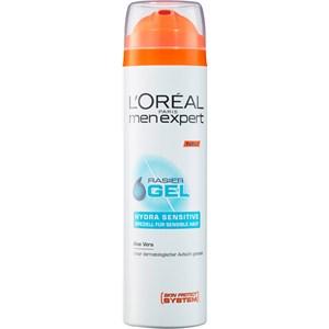 L'Oréal Paris Men Expert - Rakvård - Hydra Sensitive - Rakgel - särskilt för känslig hud