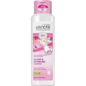 Lavera - Shampoo - Eko-malvablomma & pärlextrakt Shampoo glans & volym