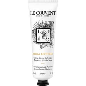 Le Couvent des Minimes - Colognes Botaniques - Aqua Mysteri Hand Cream