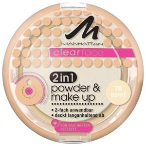 Manhattan - Ansikte - Clearface 2in1 Powder & Make Up