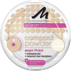 Manhattan - Ansikte - Clearface Compact Powder