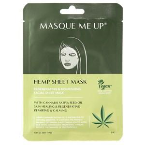 Masque Me Up - Facial care - Hemp Sheet Mask Green