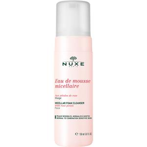 Nuxe - Aux Pétales de Rose - ros-ansiktsvård Mizellen-rengöringsskum