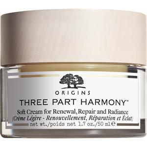 Origins - Återfuktande hudvård - Three Part Harmony Soft Cream For Renewal, Repair And Radiance