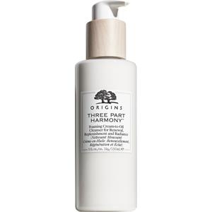 Origins - Rengöring & peeling - Three Part Harmony Foaming Cream-To-Oil Cleanser For Renewal, Replenishment And Radiance