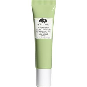 Origins - Förhindrande av hudens åldrande - A Perfect World Age-Defense Eye Cream SPF 20