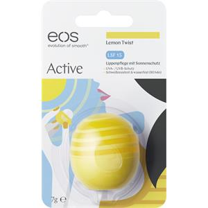eos - Läppar - Lemon Twist Organic Lip Balm